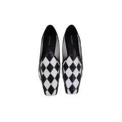 Florence Slippers - Black & White
