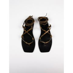 The Finnley Sandal Caramel Snake