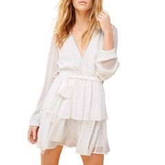 Ines Rouleau Dress White