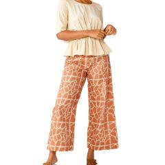 LW Straight Pant - Red Earth