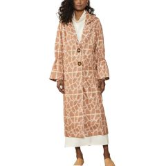 LW Scrunch Trench - Red Earth