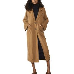 Scrunch Trench - Toffee