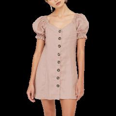 Elba Mini Dress Mauve