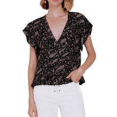 Margo Top Black
