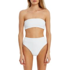 Signature High Waisted Brief - White