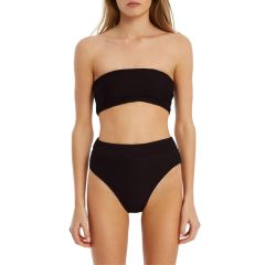 Signature Bandeau Top - Black