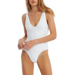 Signature Bikini Onepiece - White