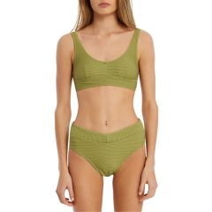 Signature V Waisted Brief - Olive