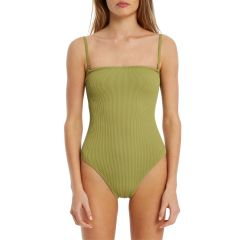 Signature Strapless Onepiece - Olive