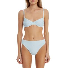 Signature Clean High Waisted Brief - Powder Blue